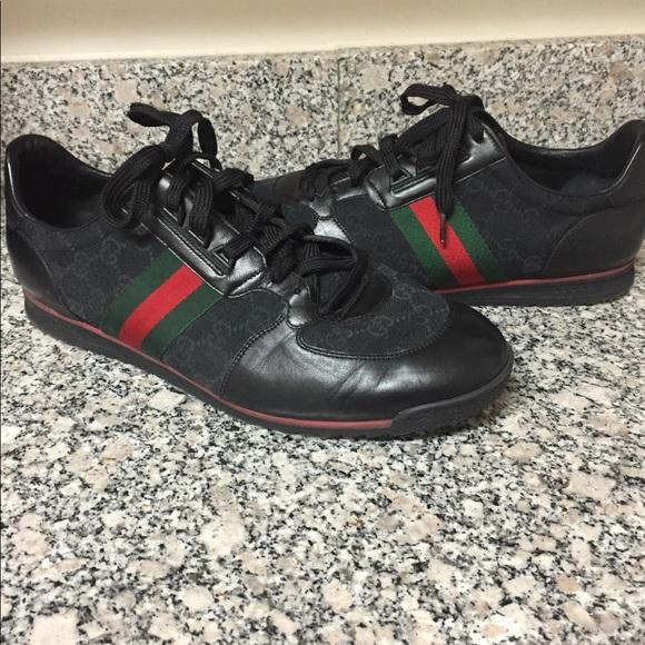 0bbf48b1e224 Gucci Shoes | Final Price Dropauthentic Men Sneakers | Poshmark